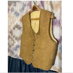80's Vintage Suede Vest